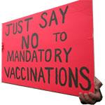 zeg nee tegen verplichte vaccinatie