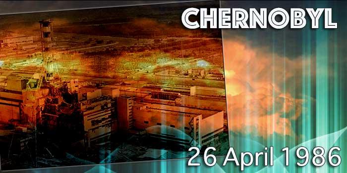 26 april 1986 de kernramp in Tsjernobyl