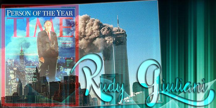 oud burgemeester 9/11 van New York