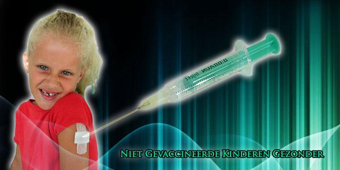 niet gevaccineerde kinderen gezonder