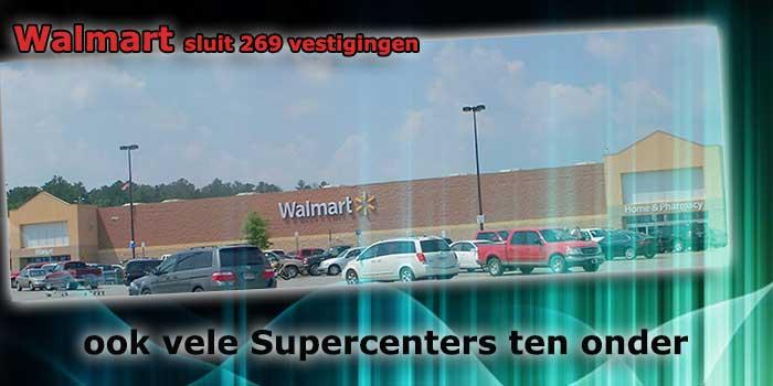winkels sluiten wereldwijd zoals Walmart