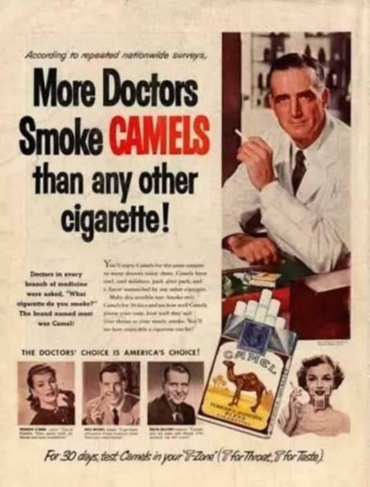 dokters roken Camel
