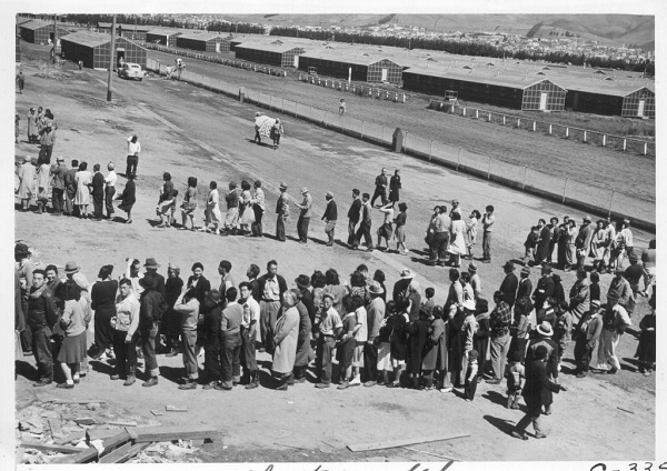 Japans gevangenkamp in Amerika