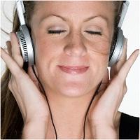 De geluiden van de DNA Spinmatrix beluisteren met de koptelefoon