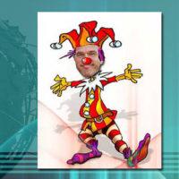 Mark Rutte - hij was maar een clown