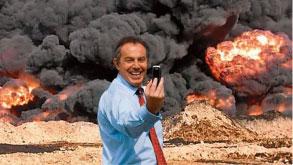 Tony Balair oorlog ophitser