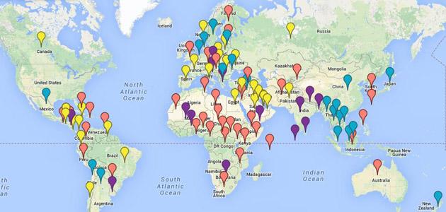 VS geheime opperaties map
