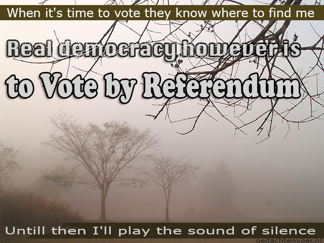 vote by referendum