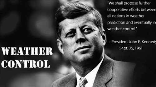 weer modificatie Kennedy