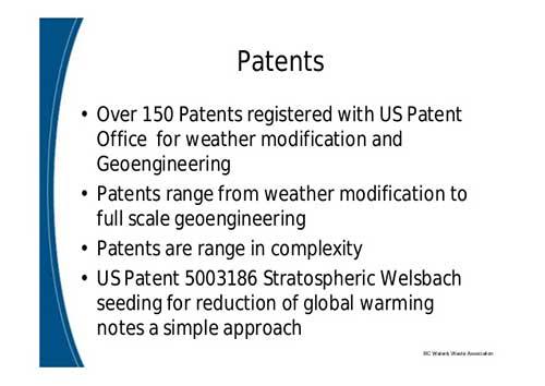 weer patenten
