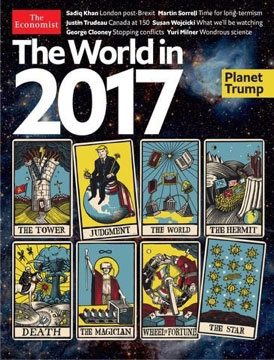 the economist the world in 2017