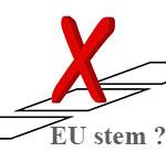EU stem uitbrengen