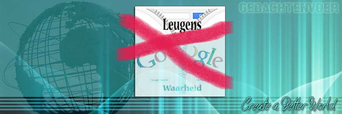 Google de leugen zoekmachine