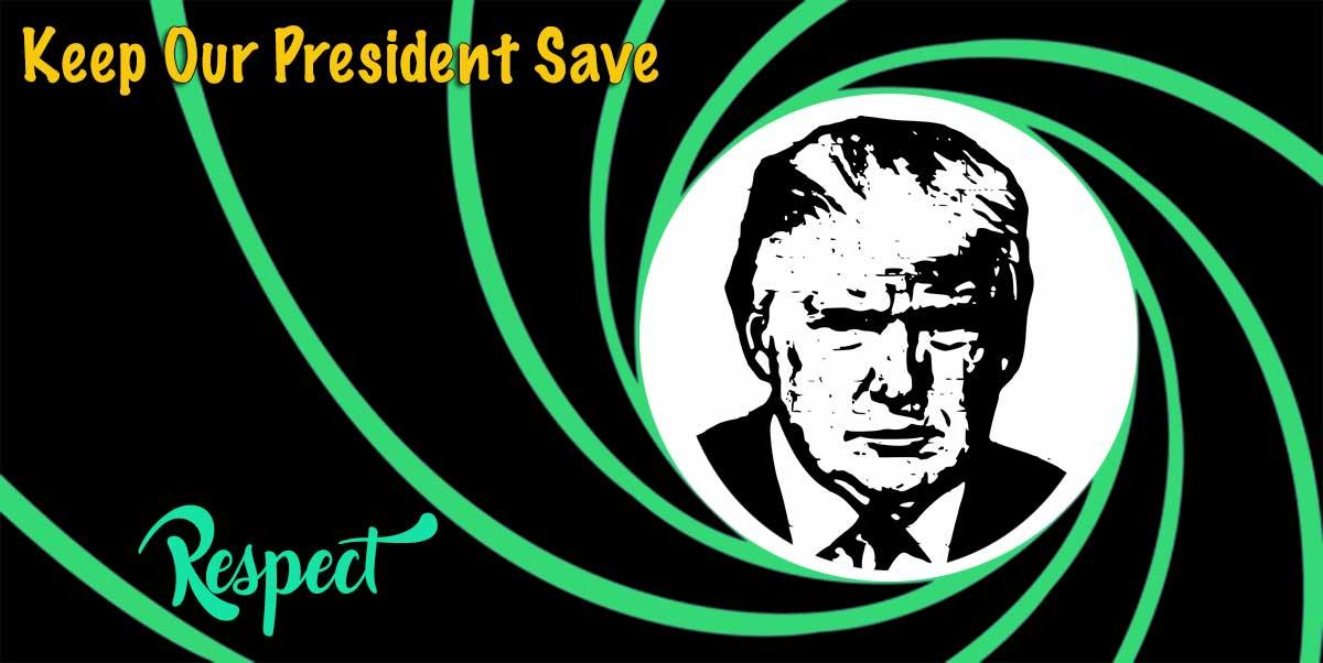 President Trump loopt veel gevaar