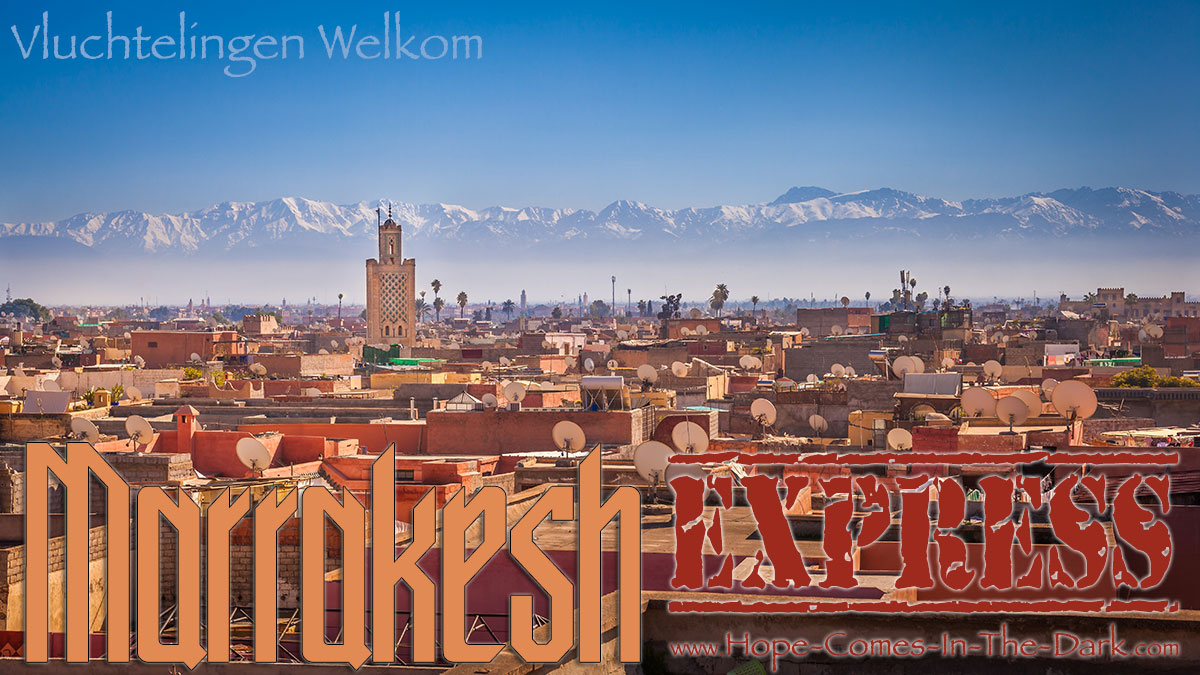 de Marrakesh vluchtelingen express