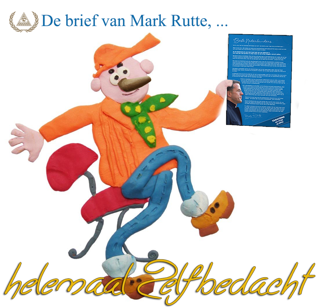 de brief van Rutte