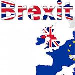 de EU vlag en Brexit