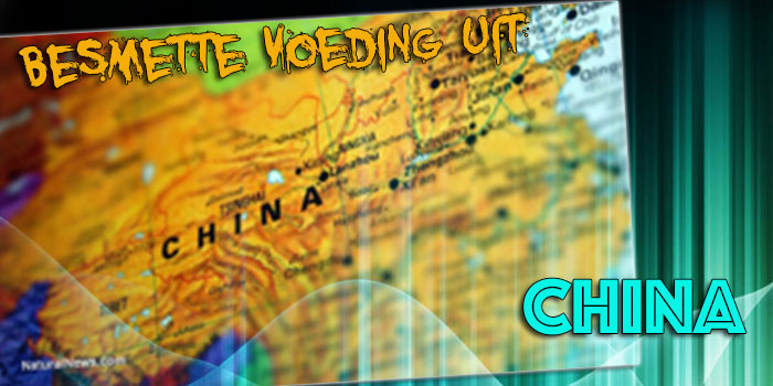 besmette voeding uit China