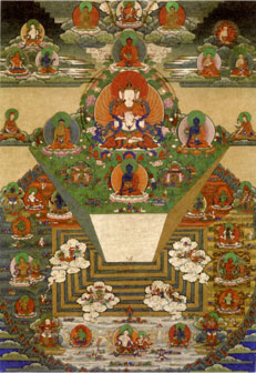 thibetaans borduurwerk