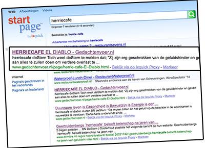herriecafe el diablo startpage