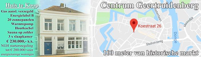 huis te koop koestraat 26 4931CS Geertruidenberg 230.000 kk