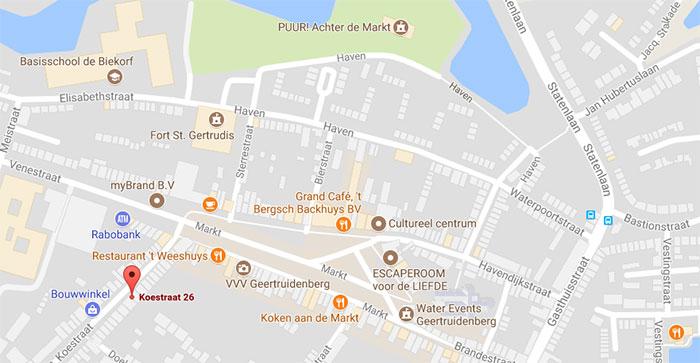 huis te koop koestraat 26 Geertruidenberg met veel voorzieningen in de nabijheid
