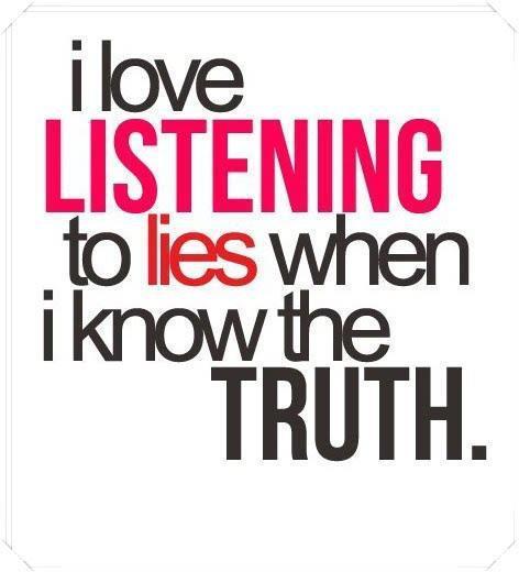 luisteren naar leugens