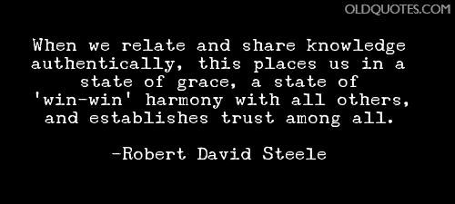 quote David Robert Steel