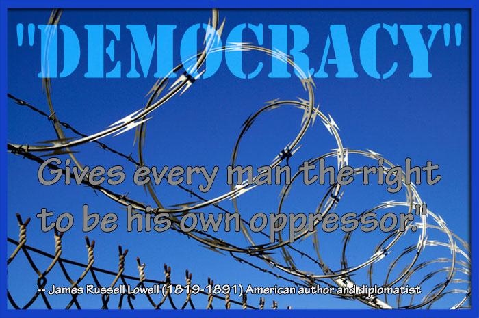 quote democrazy