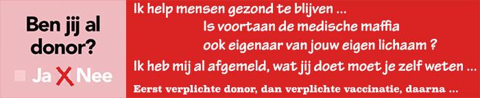 verplichte donor registratie