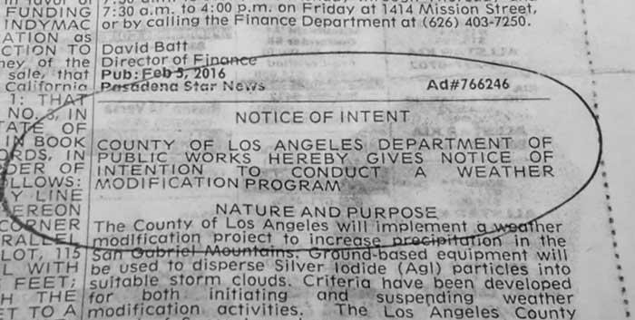 notice intent