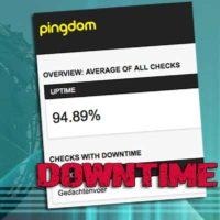 downtime website niet bereikbaar