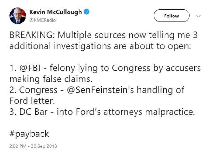 payback Kavanaugh