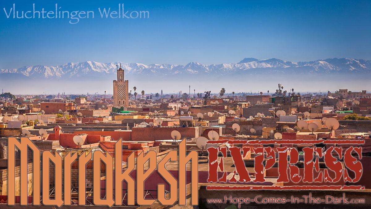 de Marrakesh vluchtelingen express