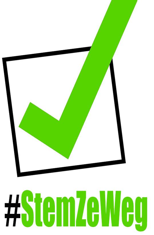 #StemZeWeg logo groot
