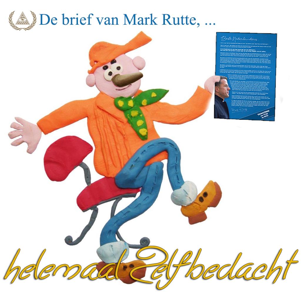 de brief van Rutte