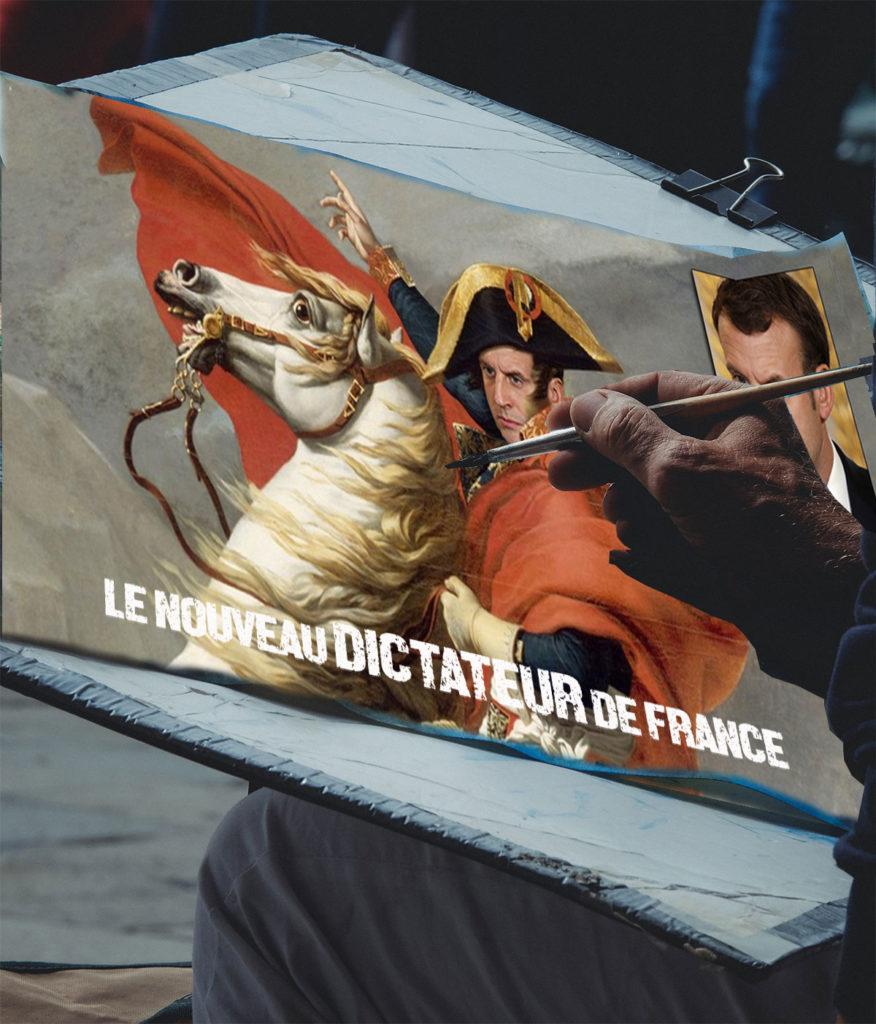 President Emmanuel Macron, de nieuwe dictator