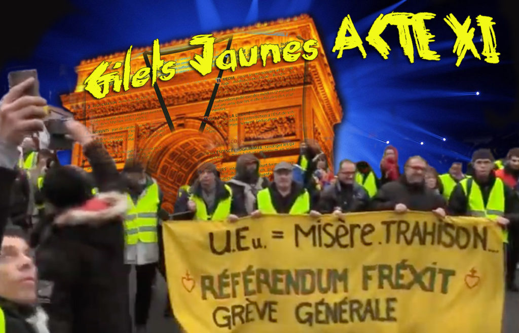 Gilest Jaunes Acte XI a Paris