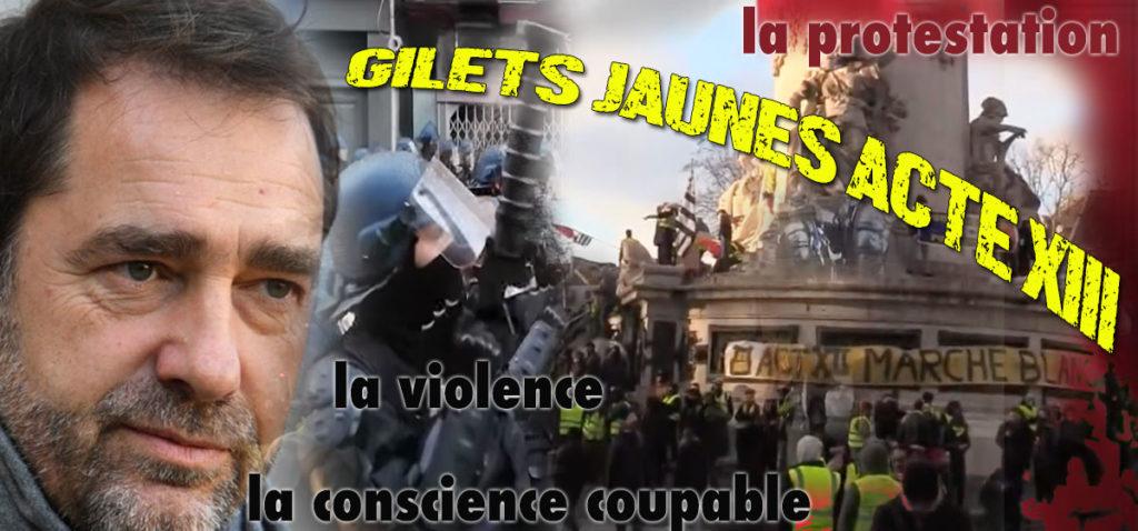 Gilets Jaunes Acte XIII