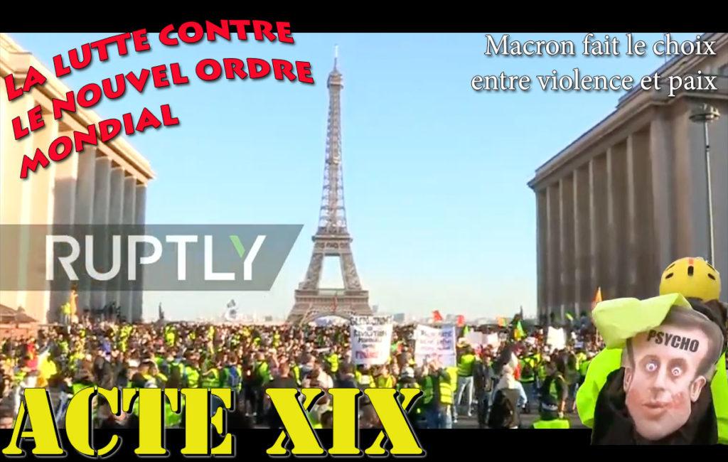 Gilets Jaunes ACTE XIX 19
