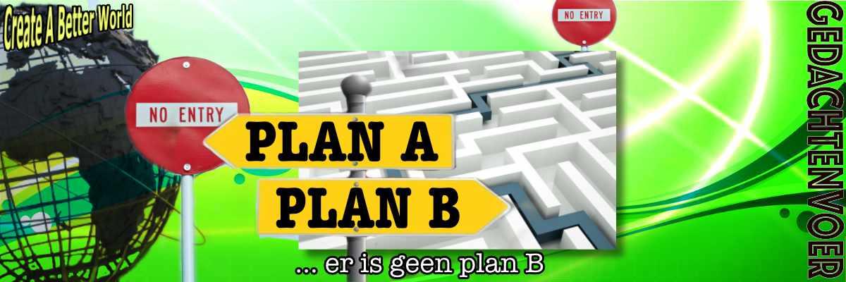 Q anon er is geen plan B