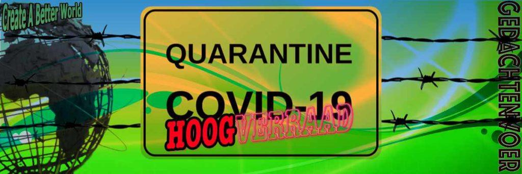 Corona - Covid 19 hoogverraad
