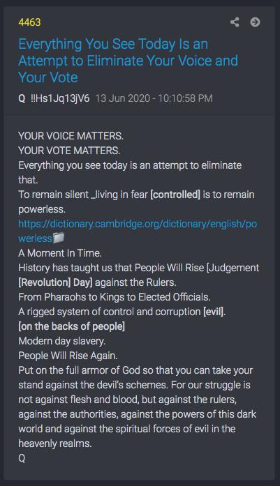 Q post 4463 silent majority