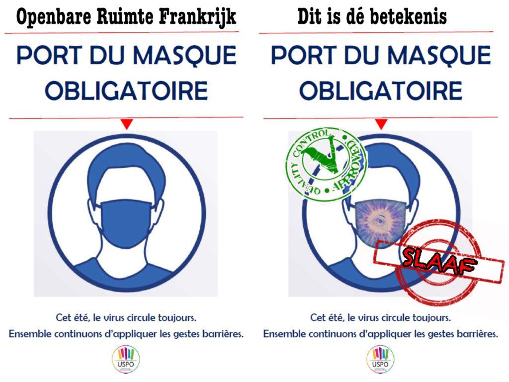 Corona Mask Frankrijk